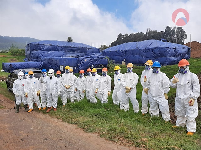 Read more about the article Asbestos Containing Material Removal Team